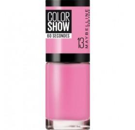 Vernis à ongles Maybelline Color Show n°13 NY Princesse, en lot de 6p