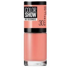 Vernis à ongles Maybelline Color Show n°30 Fire Island, en lot de 6p