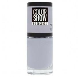 Vernis à ongles Maybelline Color Show n°73 City Smoke, en lot de 6p
