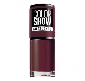 Vernis à ongles Maybelline Color Show n°357 Burgundy Kiss, en lot de 6p