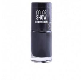 Vernis à ongles Maybelline Color Show n°677 Blackout, en lot de 6p
