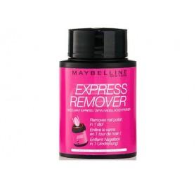 Dissolvant Maybelline Express Remover en boite, en lot de 6p