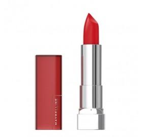 Rouges a levres Maybelline Color Sensational Matte n°968 Rich Ruby, en lot de 6p