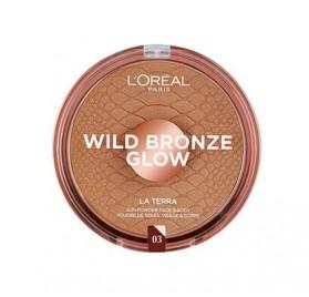 Poudre L'Oréal La Terra Wild Bronze Glow n° 03 Medium Bronze, en lot de 6p