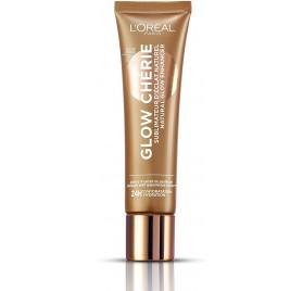 Sublimateur d'éclat naturel Glow Cherie L'Oréal teinte éclat foncé, en lot de 6p