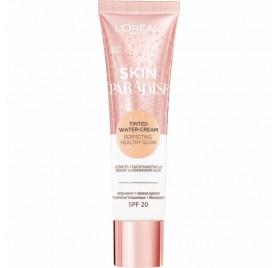Crème d'Eau Teinté L'Oréal Skin Paradise teinte Light 01, en lot de 6p