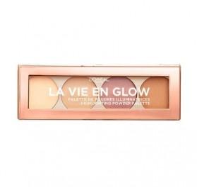 Poudre Illuminatrice L'Oréal La Vie en Glow n°01 Eclat Doré, en lot de 6p