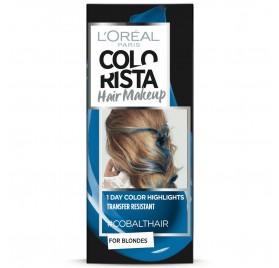Colorista Coloration éphemere Hair Make Up, teinte Cobalthair, en lot de 6p