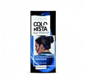 Colorista Coloration éphemere Hair Make Up, teinte Bluehair, en lot de 6p