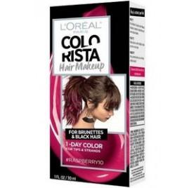 Colorista Coloration éphemere Hair Make Up, teinte Raspberryhair, en lot de 6p