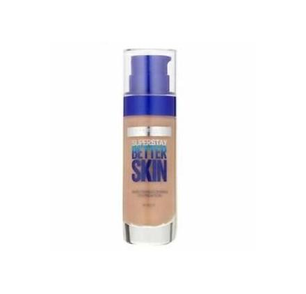 Fond de teint Maybelline Superstay Better Skin n°048 Sun Beige, en lot de 6p