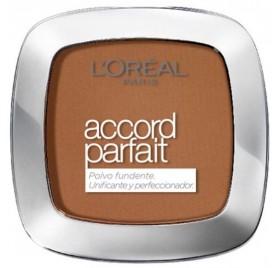 Poudre l'Oréal Accord Parfait n°10D Doré Foncé, en lot de 6p
