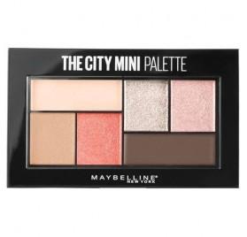 Fards à Paupières Maybelline The City Mini Palette n°430 Downtown Sunrise, en lot de 6p