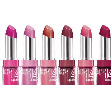 Rouge a levres Maybelline Superstay 14H, couleurs mixte, neuf sans blister