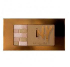 Poudre Maybelline Palette bronzante 2-en-1 NY bricks bronzer n°01 Blondes, en lot de 6 pièces