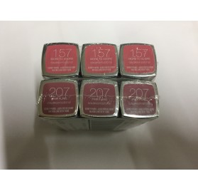 Rouge a levres Gemey Maybelline Color Sensational, sur 2 couleurs, en lot de 12p