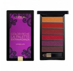 L'Oréal Color Riche La Palette levre Extravaganza, en lot de 6p