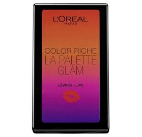 L'Oréal Color Riche La Palette levre Glam, en lot de 12p mixte, neuf sans blister