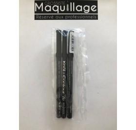 Crayon Khol & contours 16h Bourjois ULTRA BLACK, en lot de 12 neuf sans blister
