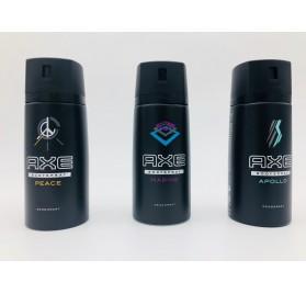 Déodorant Axe 150ml, sur plusieurs parfums, Texte multi dont Français, en lot de 18p