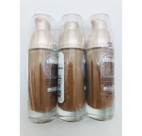 Fond de teint Gemey Maybelline Dream Satine Fluide, n°60 Caramel en lot de 12p, sans blister