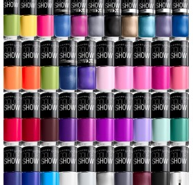 Maybelline Color Show Nail en lot de 12