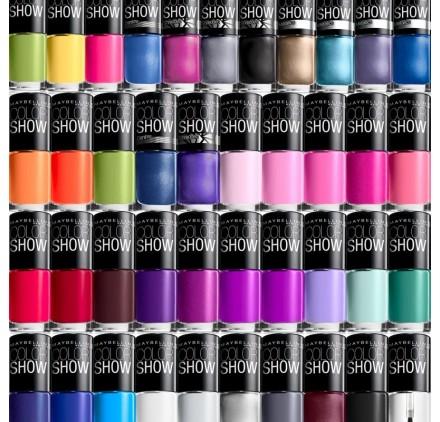 Maybelline Color Show Nail en lot de 12