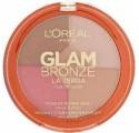 Poudre Glam Bronze L'Oréal La Terra Healthy Glow, n°01 Light Laguna, en lot de 12 pièces mixte, neuf