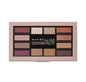Fards à Paupières palette Maybelline Countdown en lot de 12, nu, sans blister