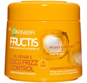 Masque cheveux Garnier Fructis Coco Frizz 300 ml, en lot de 6p