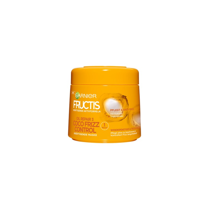 masque cheveux garnier fructis coco frizz 300 ml grossistemaquillage. Black Bedroom Furniture Sets. Home Design Ideas