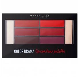 Maybelline Palette levre Color Drama n°01 Crimson vixen, en lot de 6p, neuf