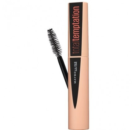 Mascara Total Temptation Maybelline noir en lot de 12p neuf, sans blister