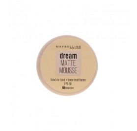 Fond de teint Dream Matte Mousse Maybelline, en lot de 12p mixte, neuf, sans blister