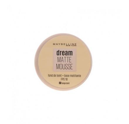 Fond de teint Dream Matte Mousse Maybelline, en lot de 12p mixte, neuf, sans blister
