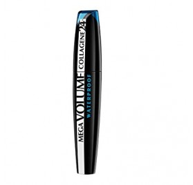 Mascara Mega Volume Collagene 24h Waterproof L'Oréal, en lot de 12p