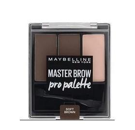 Master Brow Pro Palette Maybelline, en lot mixte de 12p