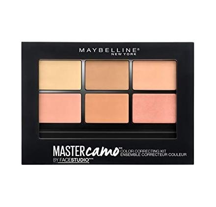 Correcteur Maybelline palette Master Camo, teinte médium, en lot de 12p