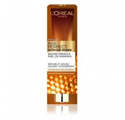 Baume Miracle Soin Visage l'Oréal Age Perfect Nutrition Intense 40ml, en lot de 12p neuf