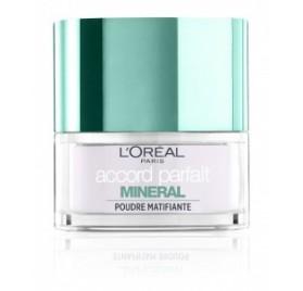 Poudre libre  L'Oréal Accord Parfait matifiante, en lot de 6p