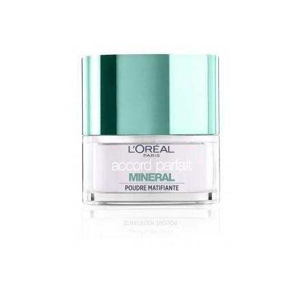 Poudre libre  L'Oréal Accord Parfait matifiante, en lot de 12p
