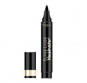 Eye-Liner L'Oréal superliner Black Buster noir, en lot de 6p, sous blister