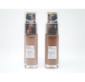 Fond de teint L'Oréal Age perfect, sur 2 teintes, en lot de 12p