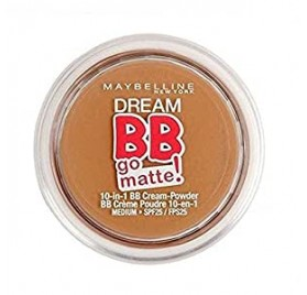 Dream BB Go Matte Maybelline teinte médium, en lot de 12p, sous blister