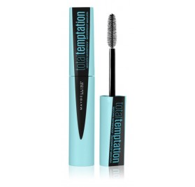 Mascara Total Temptation Maybelline noir waterproof en lot de 12p neuf, sans blister