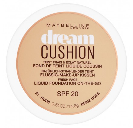 Fond de teint Maybelline Dream Cushion n°021 Beige doré, en lot de 12p