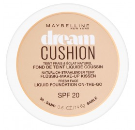 Fond de teint Maybelline Dream Cushion n°030 Sable, en lot de 12p