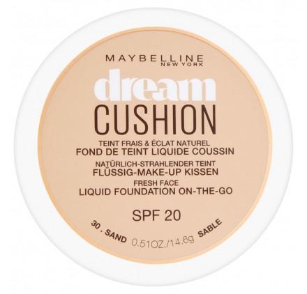 Fond de teint Maybelline Dream Cushion n°030 Sable, en lot de 6p
