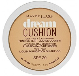 Fond de teint Maybelline Dream Cushion n°040 Cannelle, en lot de 12p